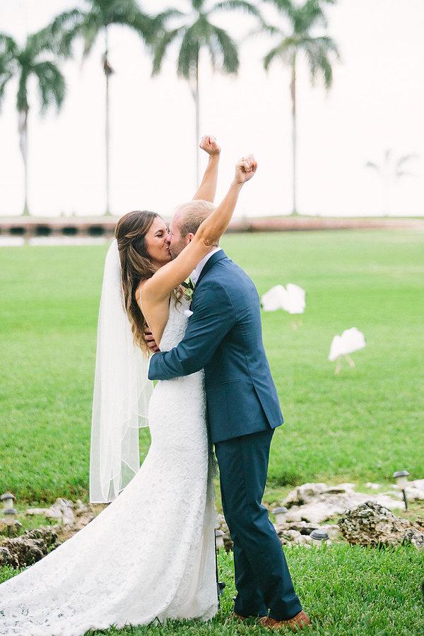 Tropical wedding inspiration miami