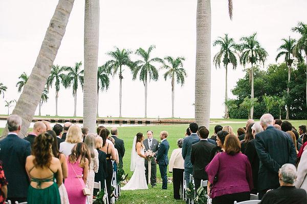 tropical weddings at the deering estate