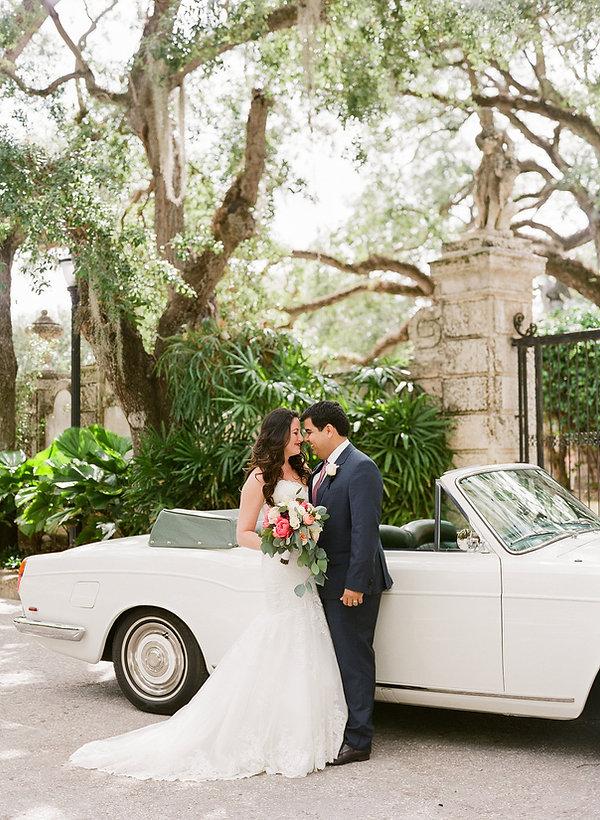 Vizcaya museum and gardens intimate wedding