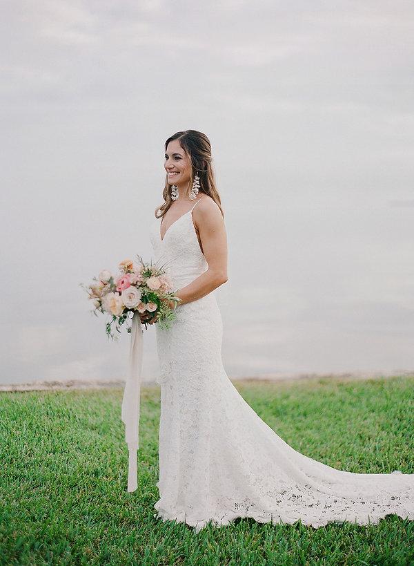 Bride at the Deering Estate
