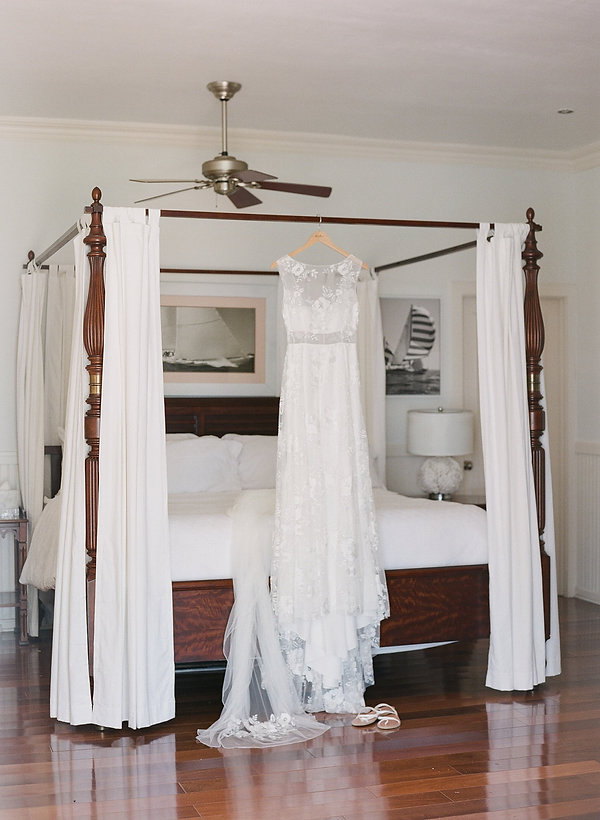 bahamas wedding dress