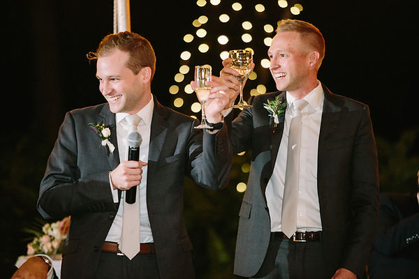 The Deering Estate wedding reception nig