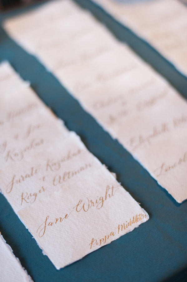 custom calligraphy name tags