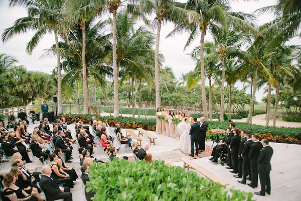 st regis bal harbor wedding ceremony photos