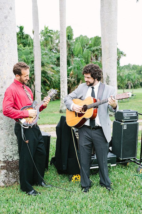 wedding band at the deering estate