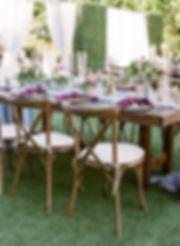 tuscan x-back chairs