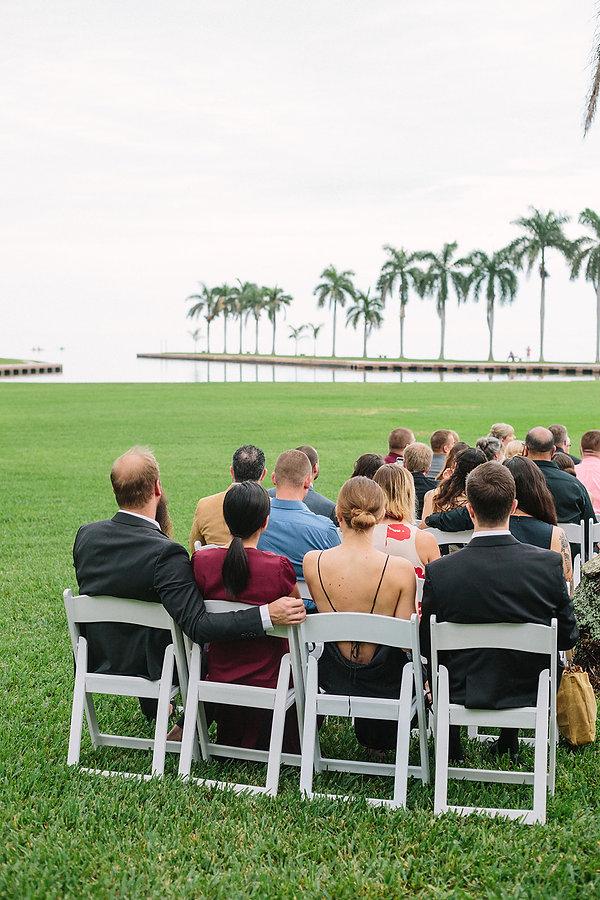 the deering estate wedding ceremony