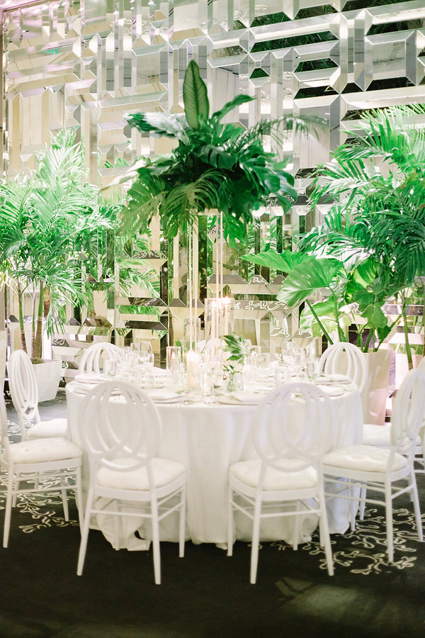 elegant wedding reception tabletop ideas
