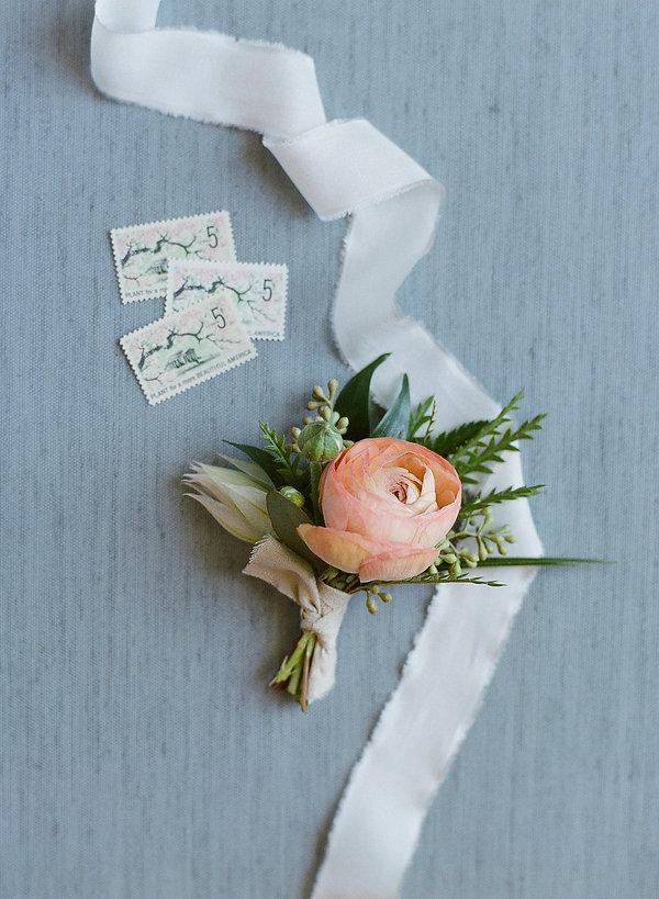 pink bountonniere naples florist