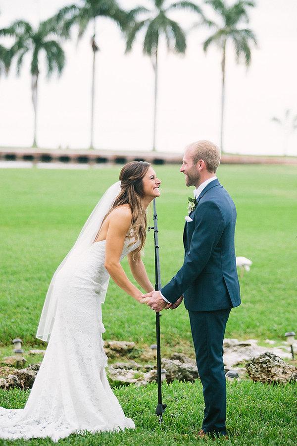 Tropical wedding inspiration florida