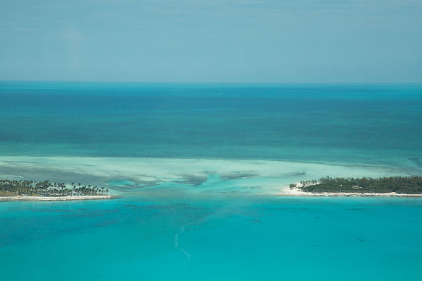 Cystal Blue Waters of the Bahamas