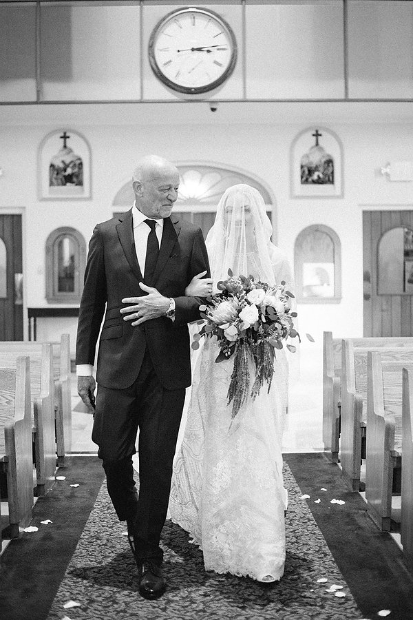 Down the isle photo photographed by tampa wedding photographer alisa ferris