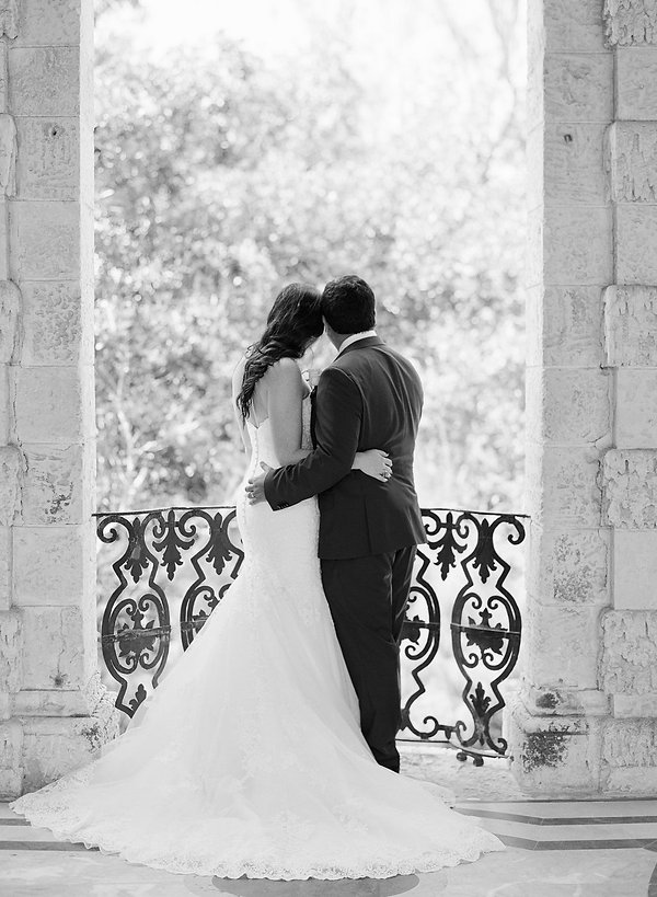 Small weddings at vizcaya museum and garden