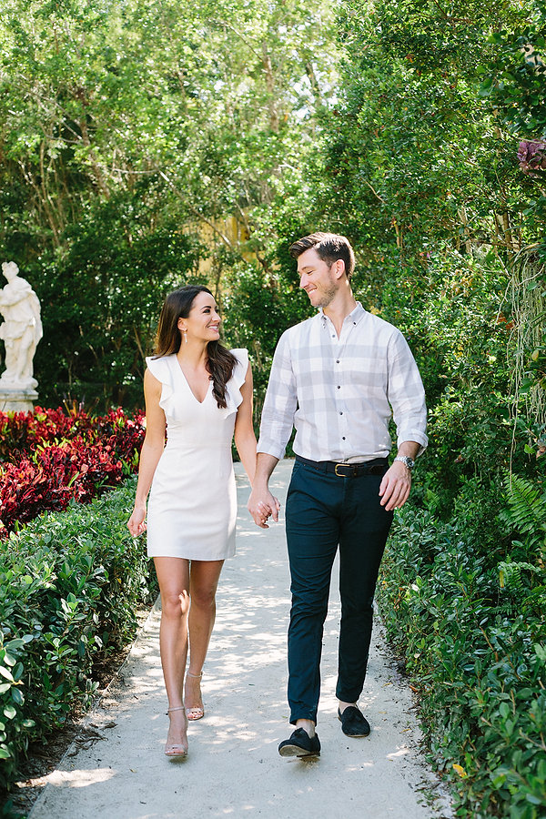 Engagements at the Vizcaya museum and gardens