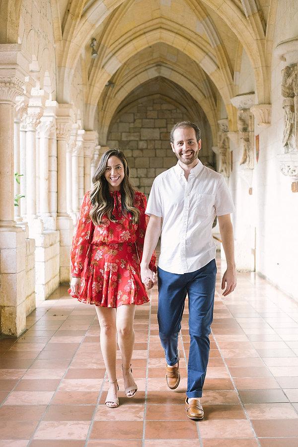 Ryan + Vanessa - Ancient Spanish Monaste