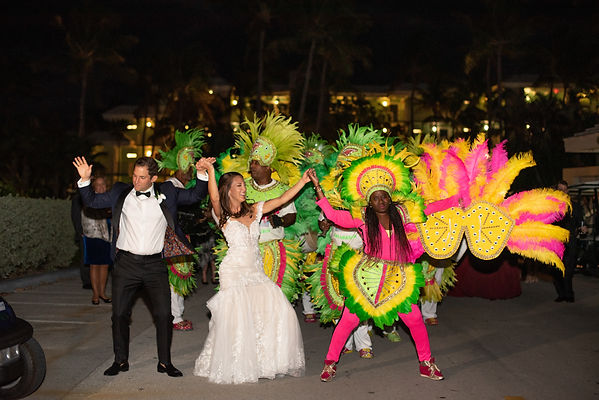 junkanoo band wedding