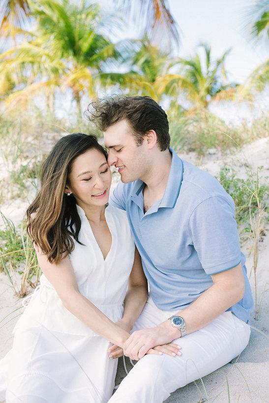 Crandon Park engagement session