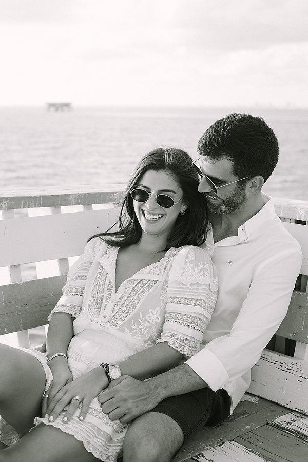 Sam + Alex - Miami Engagement Session -