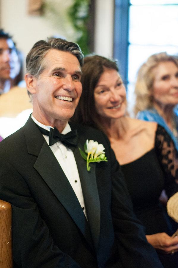happy parents of the bride