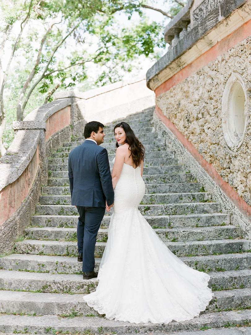 Wedding at Vizcaya Miami Photography
