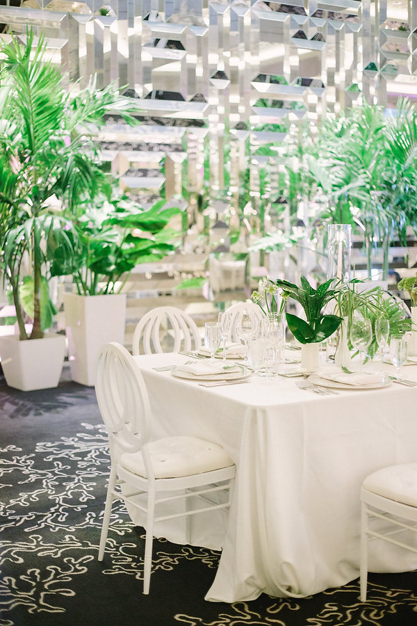 beautiful wedding reception tabletop ideas in miami