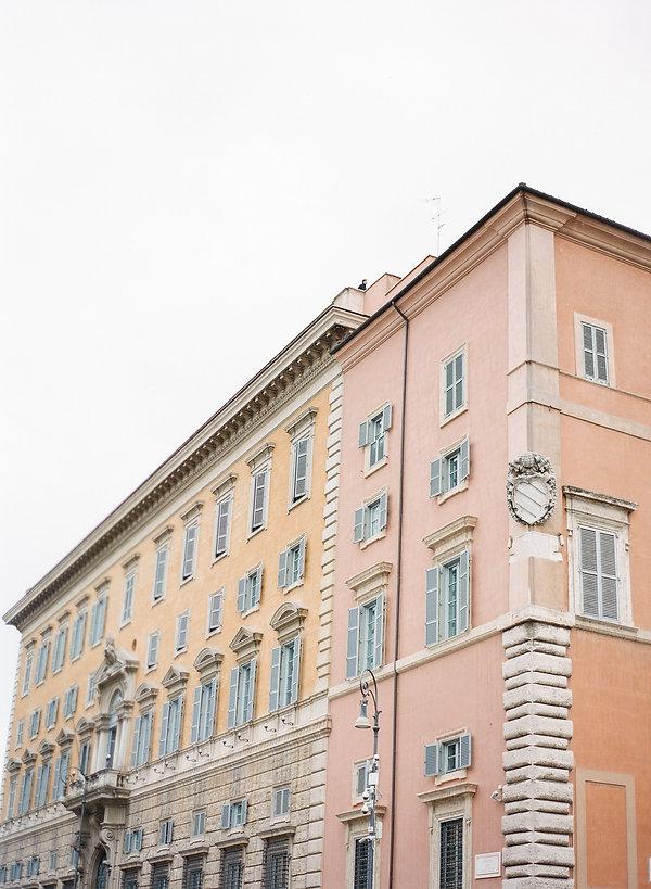 building facade in vatican city