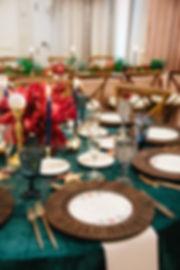 Pialisa wedding tabletop rentals