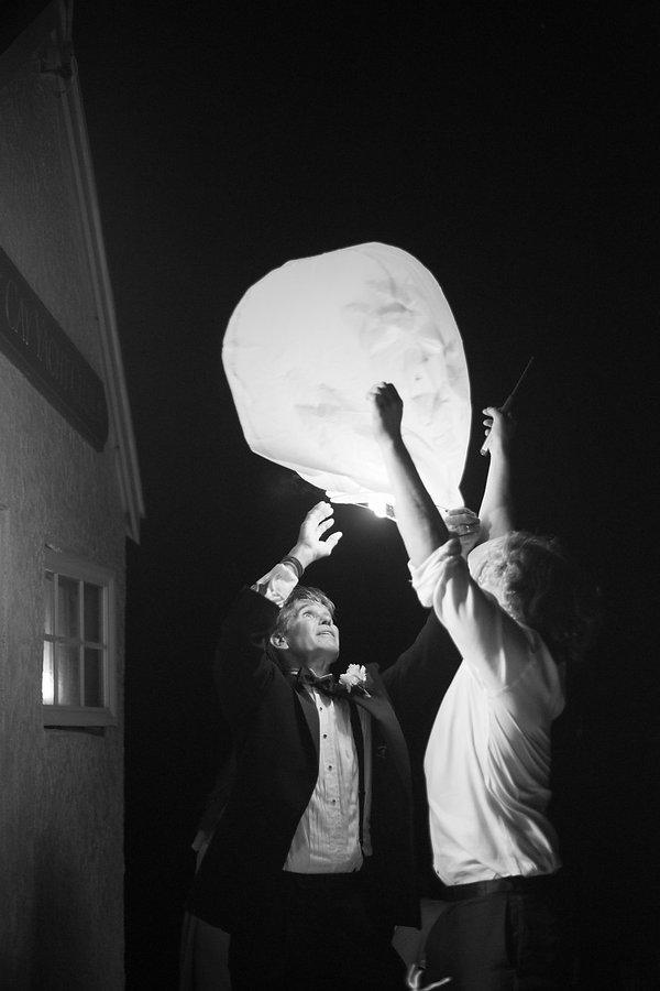 Lantern to end the wedding