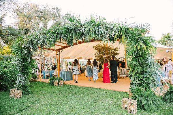 Miami Wedding Reception Photo
