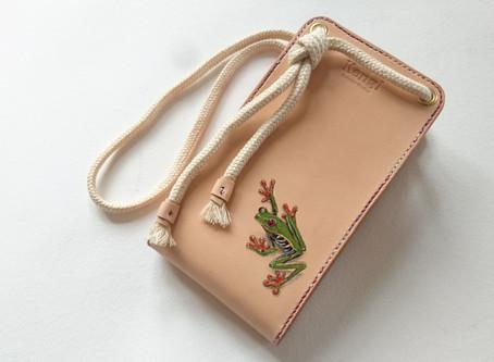 Frog in case