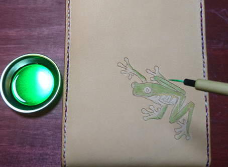Coloring to Frog in case