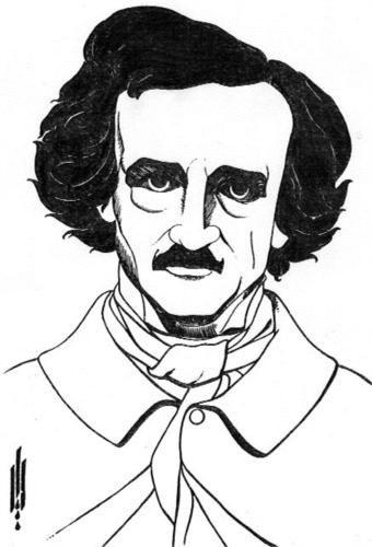 Edgar Allan Poe by Aubrey Beardsley