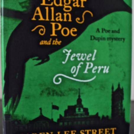 The U.K. Publication Date of Edgar Allan Poe & the Jewel of Peru.