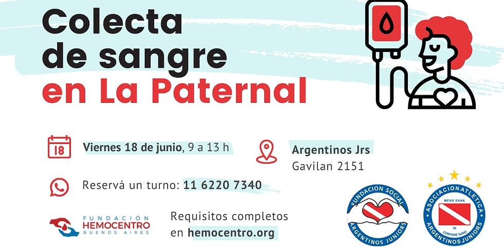 Colecta en La Paternal - Argentinos Jrs.