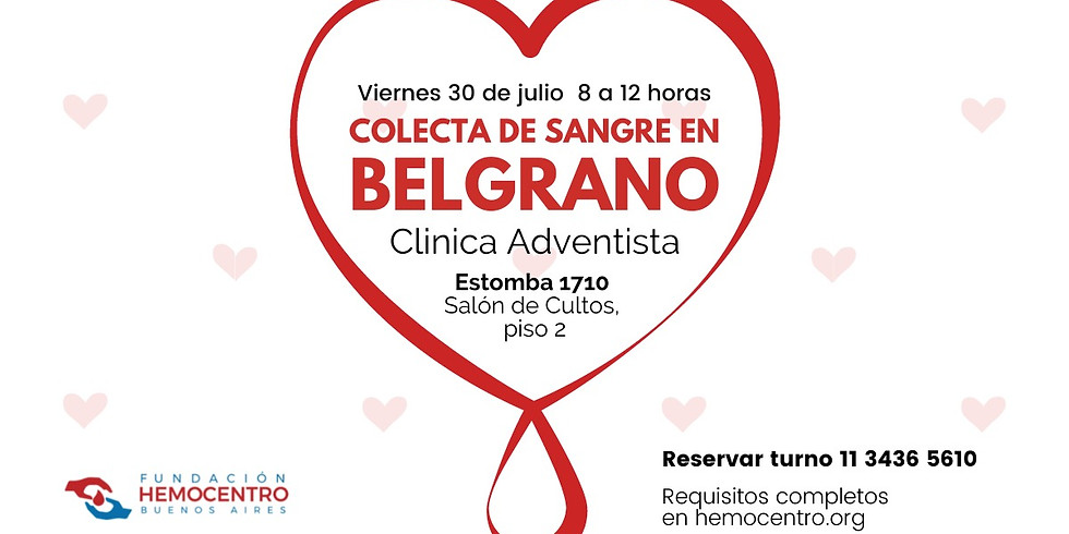 Colecta en Belgrano R