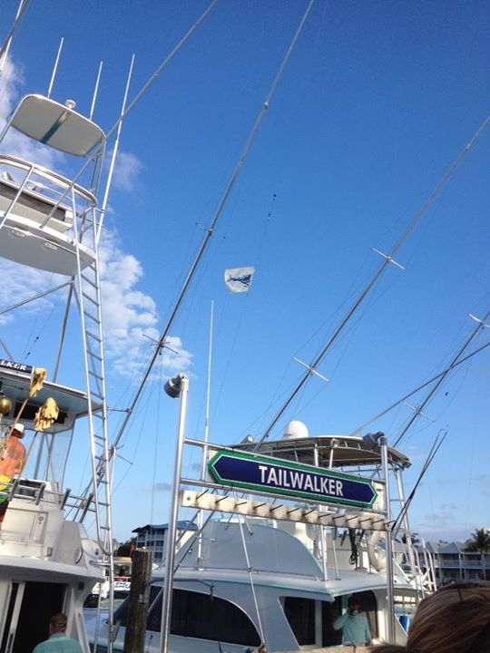 Quiet(ish) day on the waters but team TailWalker Hotties Dani Ransdell Anderson Jamie LaFrance Ekblo