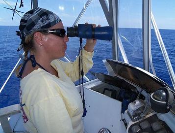 CaptnKetti female offshore sportfishing captain