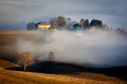 Contrade nella nebbia