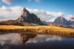 Mount Nuvolau, Passo Giau