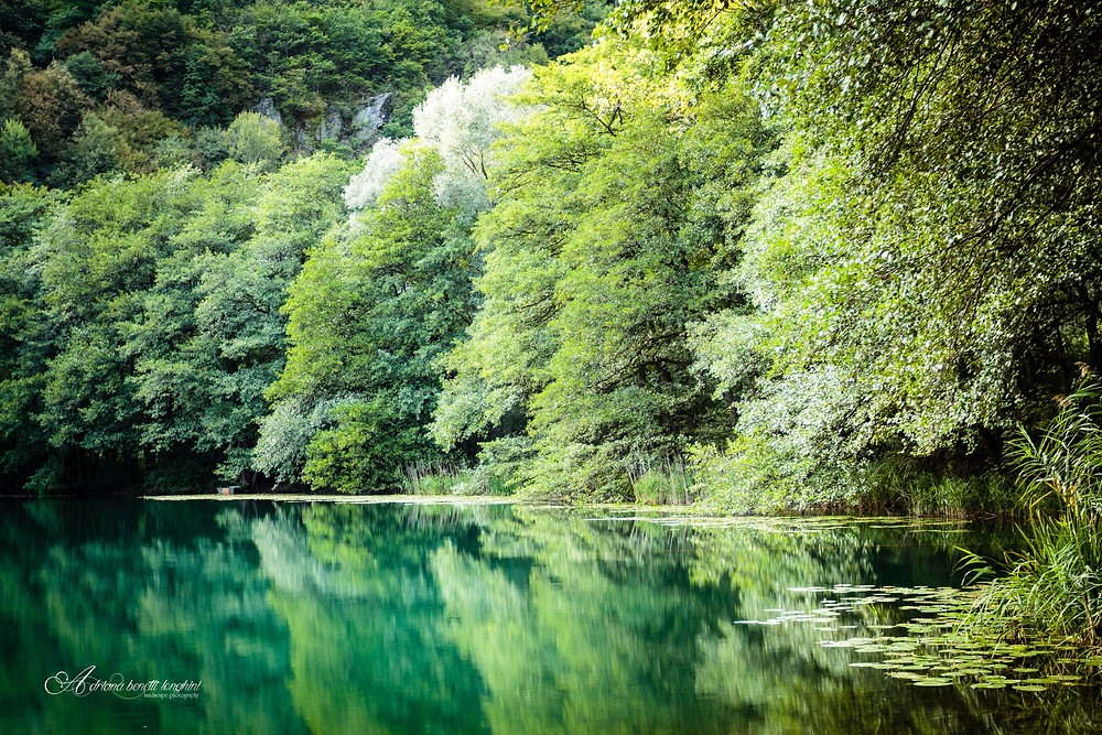 lake Levico Trento