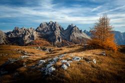 monte piana autunno