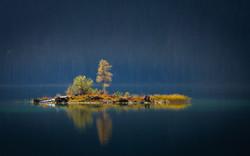 autumn islands eibsee
