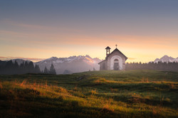 Chapel of San Lorenzo, Marcesina