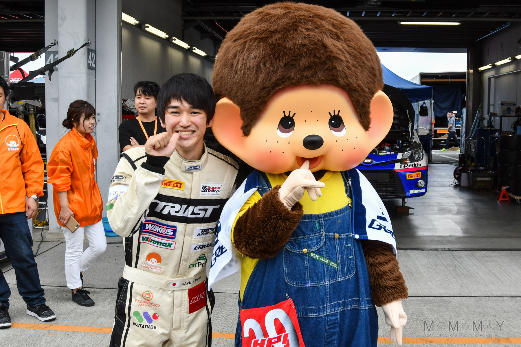 24  HRS FUJI - pitwalk