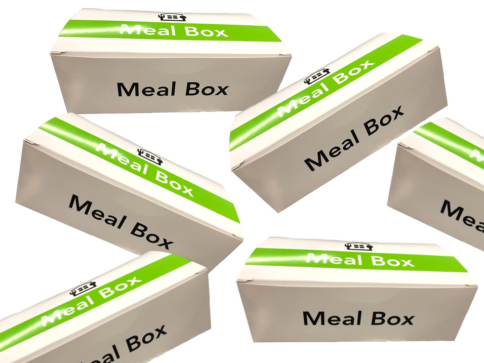 individual box meals - Food insecurity suppliers, community meals, disaster foodservice food service supplier, hunger, co-packer, relief