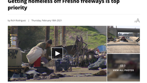 Getting homeless off Fresno freeways is top priority