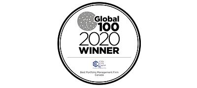 Global 100, Best Portfolio Management CanCity Capital