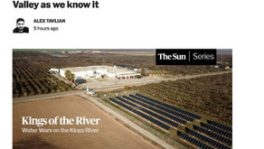 How a water Wars on the Kings River could alter the Valley as we know it