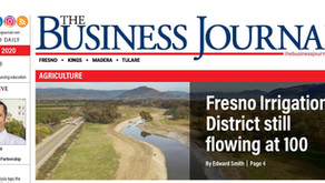 FRESNO IRRIGATION DISTRICT STILL FLOWING AT 100