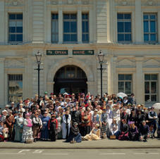 End of festival group photo